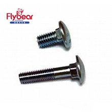 Standard sizes ISO8677 SUS304 cup head carriage bolt Monel 400 bolts standard fasteners DIN603 bolts and nuts set