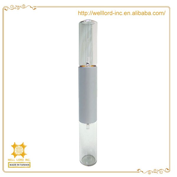 Pen shaped double end metal cap cosmetics sleeping spray bottles