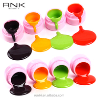 RONIKI Guangzhou Nail Polish Factory Private Label Cosmetics Color Nail 3D Painting Uv Gel