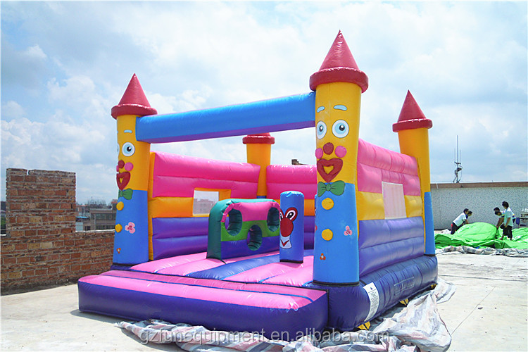 Customized design commercial Inflatable Clown bouncer inflatable jumping house bounce castle for sale
