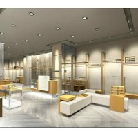 Retail Modern Cloth Shop Of Clothes Furniture Design - Buy Clothes ...