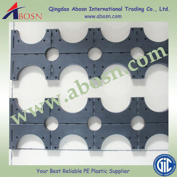 Hot Hdpe Pipe Support Hdpe Block Hardness Plastic Uhmwpe