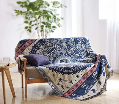 <font><b>Bohemian</b></font> Cotton Knitted Thread Blanket Soft Towel Bed Plaid Vintage <font><b>Home</b></font> <font><b>Decor</b></font> Tapestry