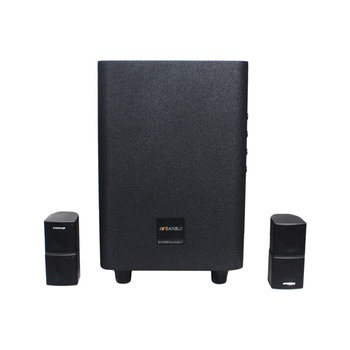 2.1 Home Theater dj speaker box SANSUI Q3 wireless home theater system with APP/USB/bluetooth and technical home theater system