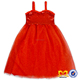 Latest Party Wear Dresses For Kids Red Sequin One Piece Girls Party Dress