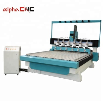 4 axis cnc router with multi-spindle rotary axis for wood