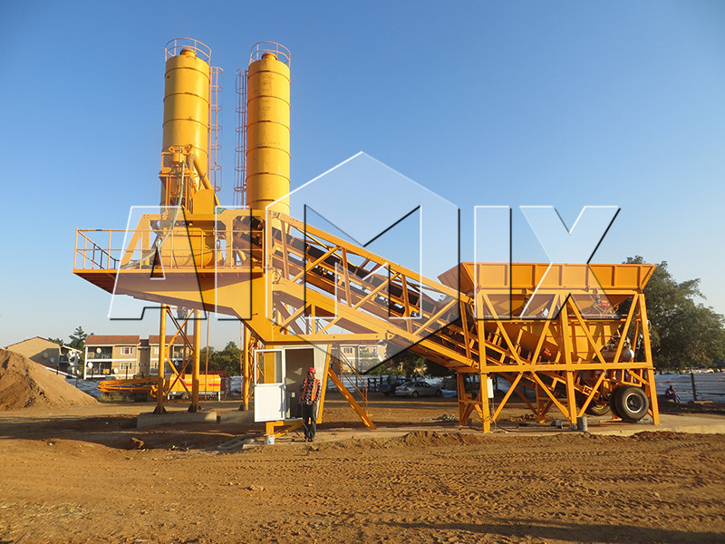 High quality YHZS50 rmc concrete batch plant cost for sale
