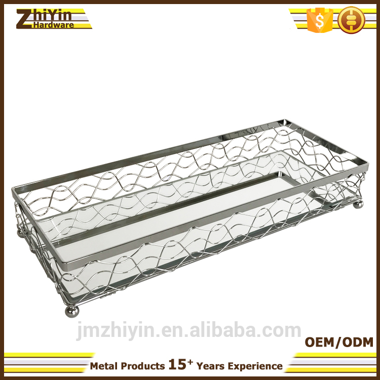 best selling hot chinese products mirrored tray table OEM & ODM