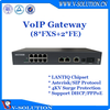 High Performance 8FXS+2FE VoIP Gateway Asterisk/SIP Gateway for FTTB/FTTO Solution Made in China