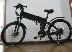 Chinese powerful 26 inch folding electric bike/bicycle