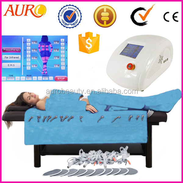 Professional EMS infrared air press slimming pressotherapy Sauna Weight-losing Expert Au-6809