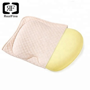 Newest Air flow Memory foam Sleep Science Baby Pillow for Newborn for Sleeping and Flat Head Cushion Square shape