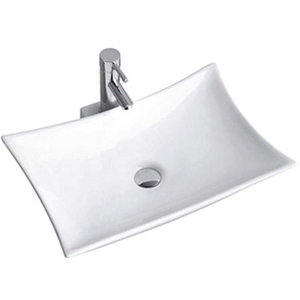Modern design competitive price unique single faucet hole canada bathroom vessel sink