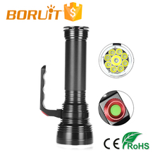 2018 Boruit 9* Cree L2 Led Professional Diving Torch High power Flashlight