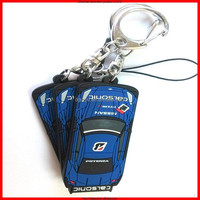 Car shape souvenir,personalized charming keychain