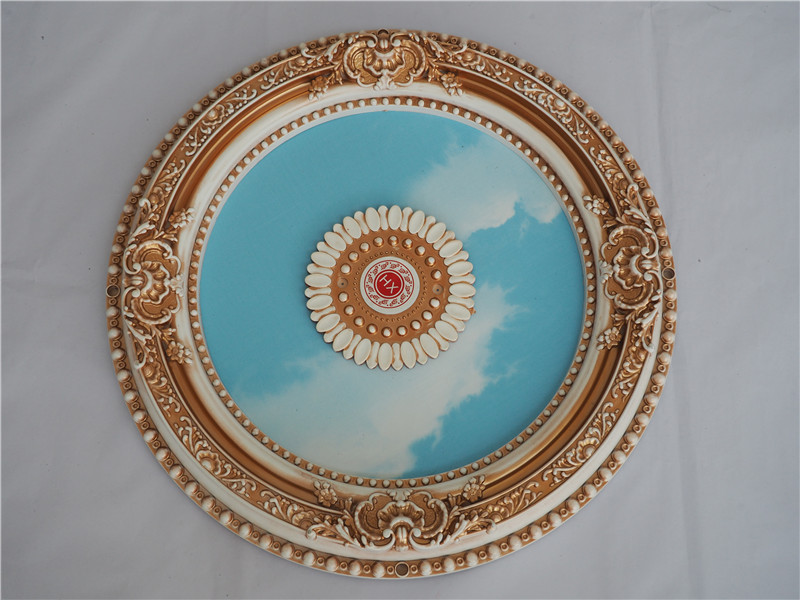 Round Decoration Artistic Ceiling Tiles Round Decoration Artistic