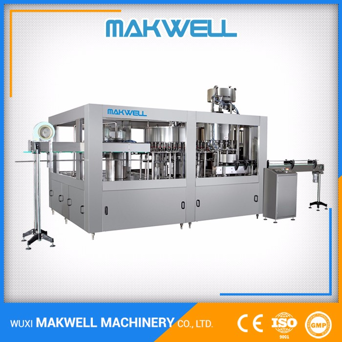 OEM Offered Manufacturer High Tech Carbonated Soft Drink Filling Machine