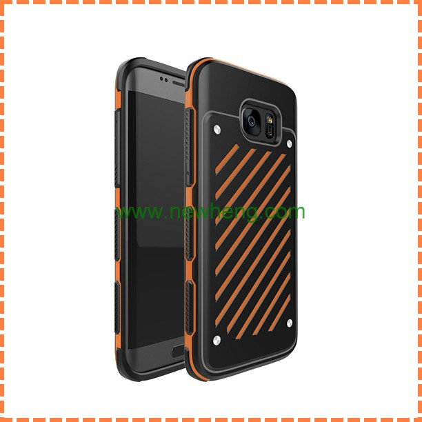 wholesale cell phone case for samsung galaxy s7 back cover, for samsung s7 hard armor case
