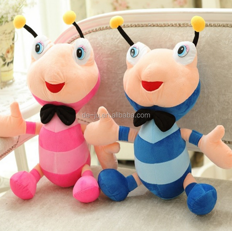 Couple Dolls Pink Blue Ant Plush Toy
