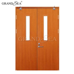 90 minutes fire door resistance hotel apartment wood fire rated door prices