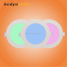 smart rgb downlight plafoniere a led wifi control 16 color recessed 6w round 60x60 cm led panel light