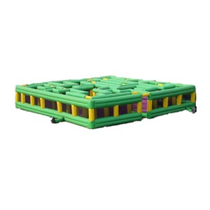 Funny Large inflatable arena maze outdoor sports games for sale