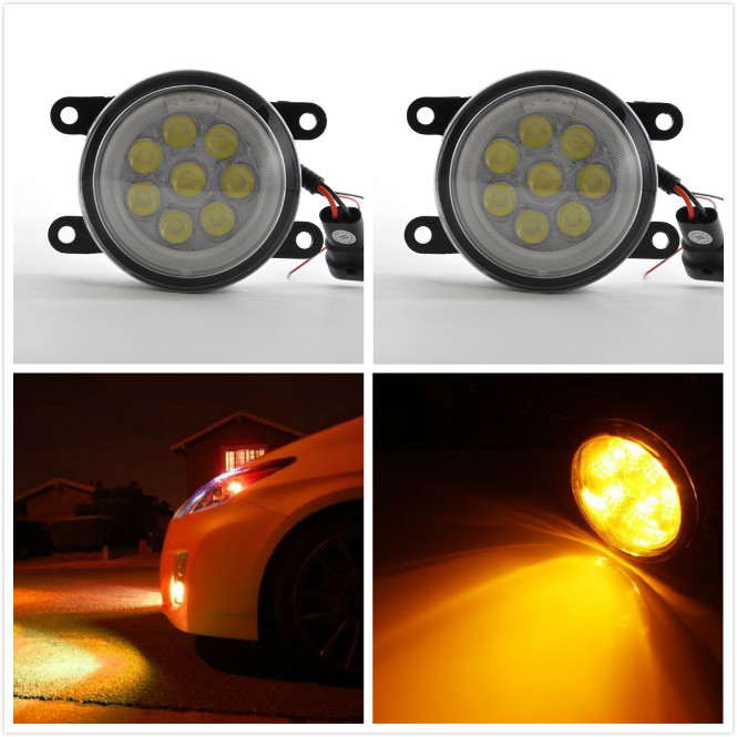 Best pickup truck accessories drl led fog light for Mitsubishi triton l200 fog lamp