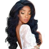 brazilian body wave full lace wigs under 100 180% density full lace wig pre plucked cuticle aligned high quality human virgin