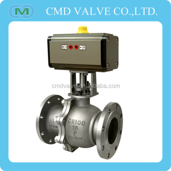 Ball Valve With Electric Actuator Dn100 Pn16