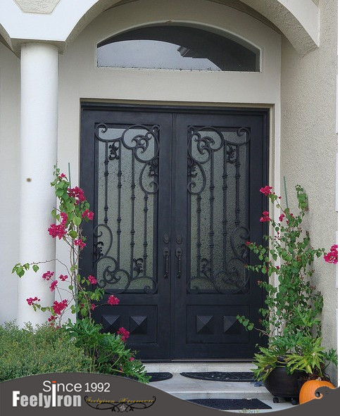 cuadrado superior hierro doble puerta fd