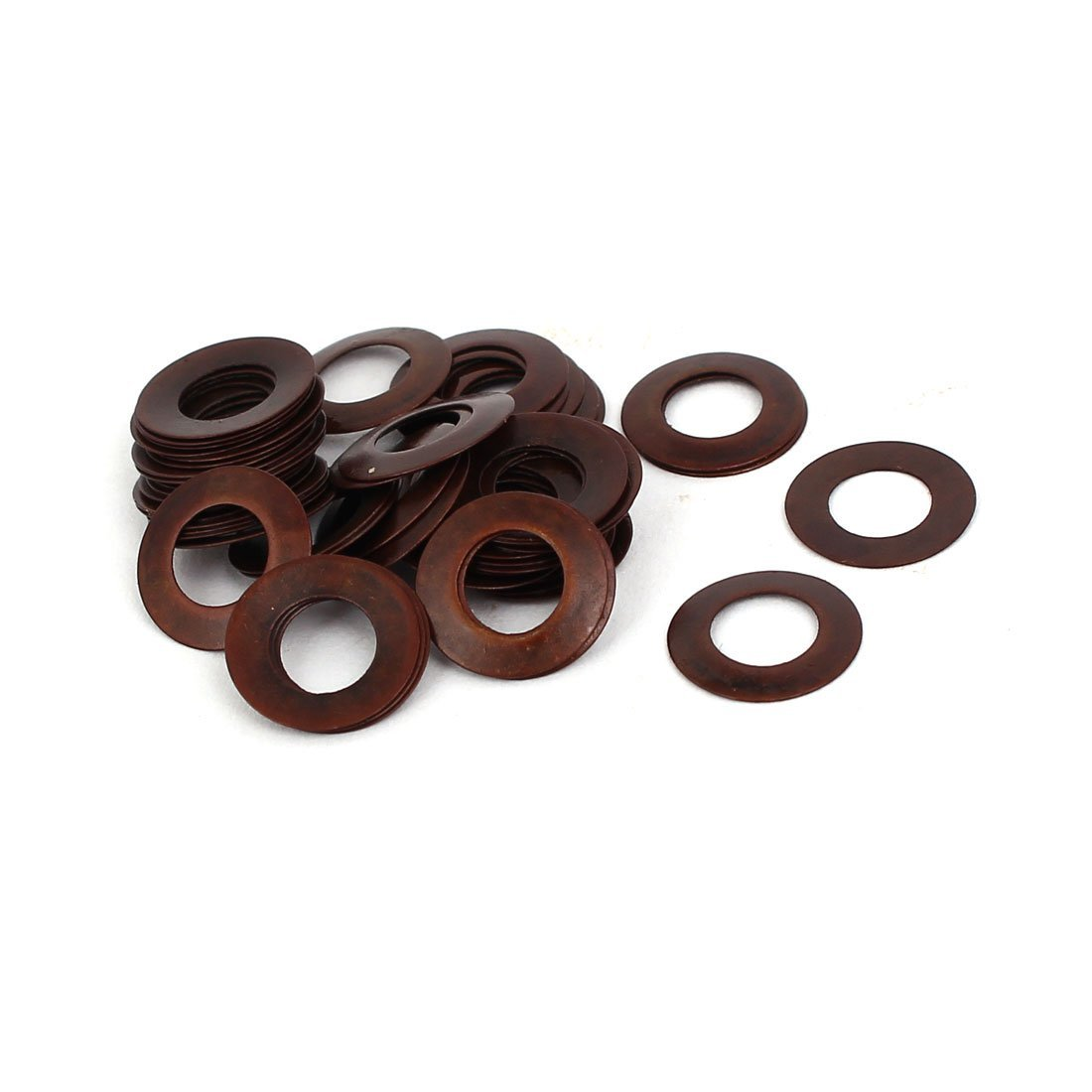 uxcell 10mm Outer Dia 5.2mm Inner Dia 0.25mm Thickness Belleville Spring Washer 50pcs