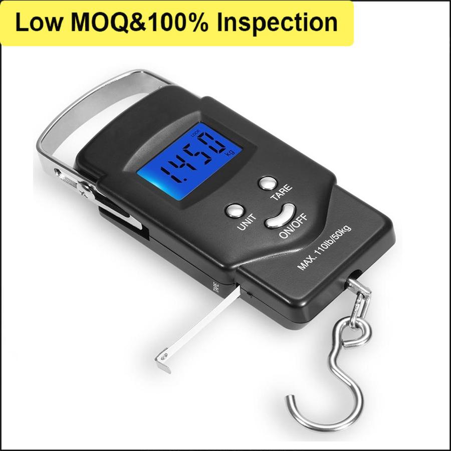 Amazon Hot Selling Measuring Metal Hook Fish Scale