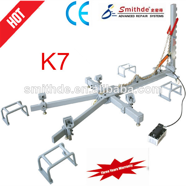 Yantai Smithde K7 cheap high quality mini accident damaged car straightening bench