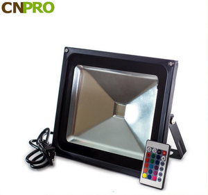 Outdoor Color Changing 10W 20W 30W 50W 80W 100W IP65 Waterproof LED Flood Light RGB CE & RoHS