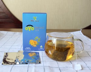 eye bright tea with 100% organic herbs FDA certificate