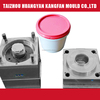 Customized injection plastic bucket with cover moulds