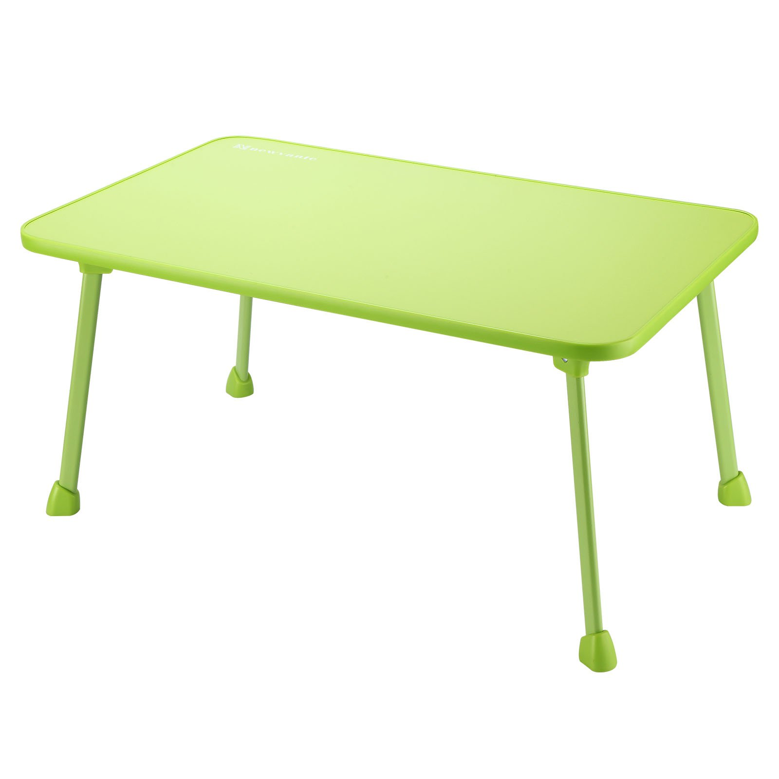 Laptop Bed Tray Table NNEWVANTE Foldable Laptop Bed Desk Lap Desk Portable Travel Table, Breakfast Tray with legs Colouring Desk for Bed Couch Floor, Adults Students Kids(Green)