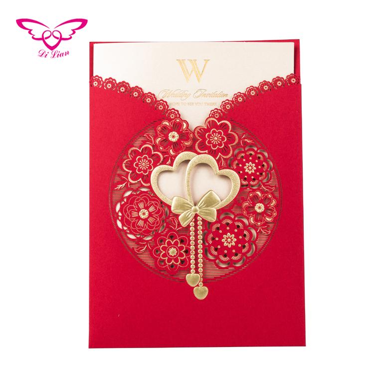 Sweet Loving Heart Golden Wedding Card 50th Wedding Anniversary Invitation Card View 50th Wedding Anniversary Invitation Card Dilian Product Details