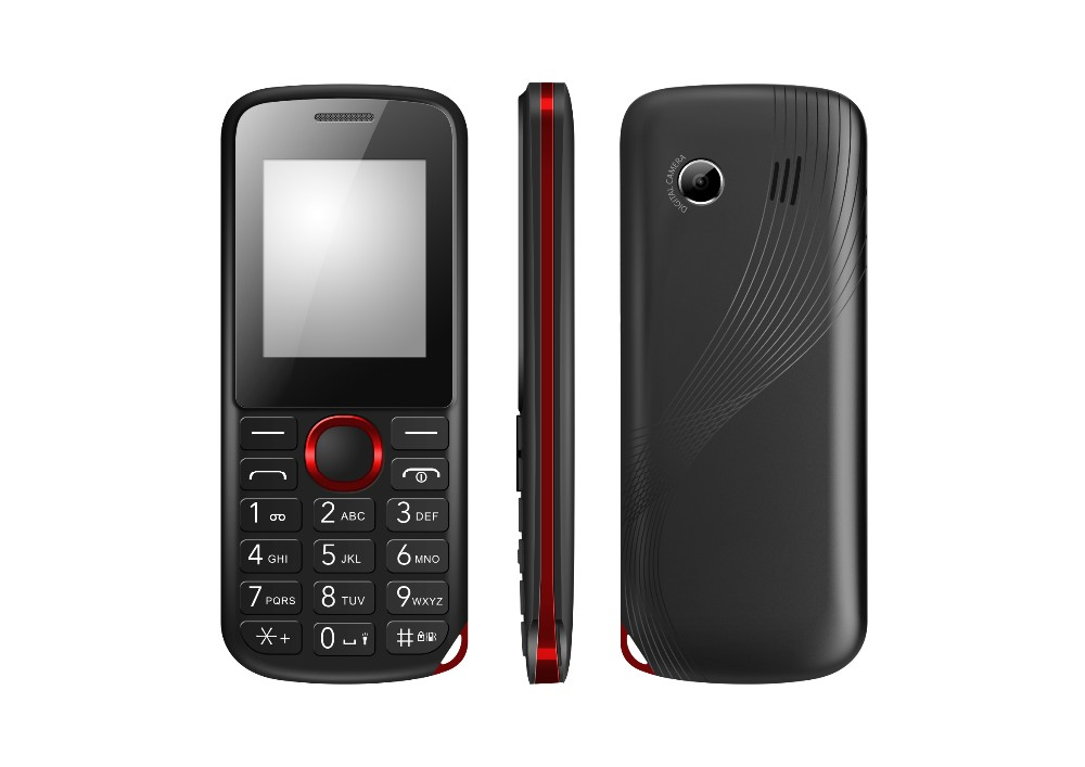 Low price Quad band 1.8 inch feature mobile cellular phone