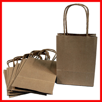 Supplier Of Customized Paper Bag Design Recycle Kraft Paper Gift Bag