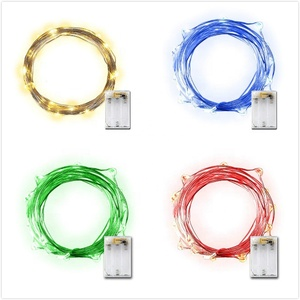 Battery Operated Luces Navide Led Copper Wire Christmas Light Fairy String Lights For Outdoor