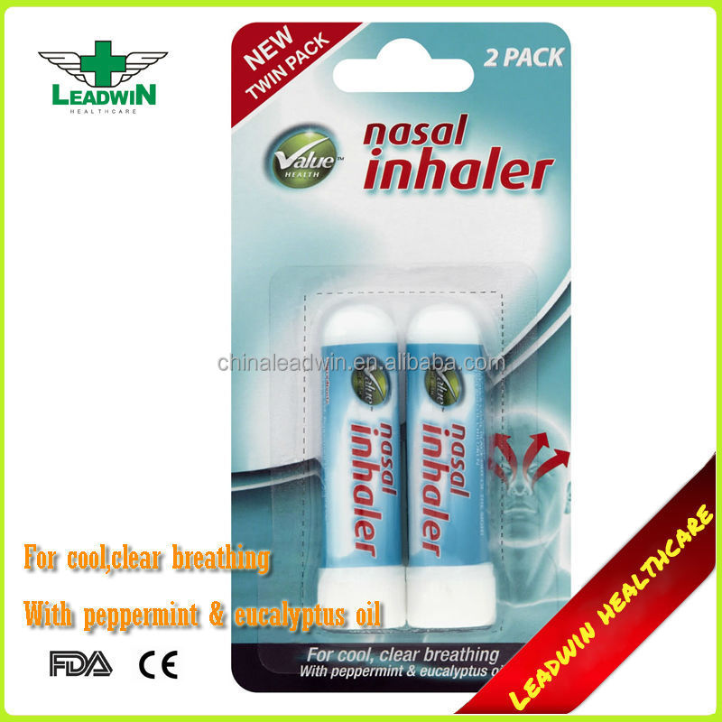 Inhalador nasal descongestionante