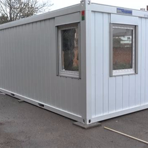 Living bedroom china real estate 20ft flat pack container house price