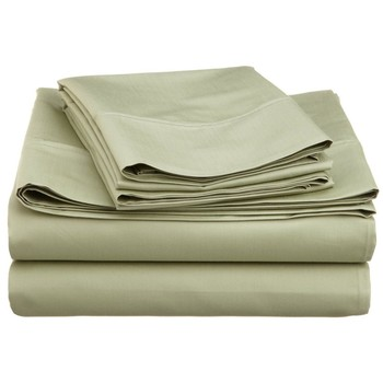 Comfort 1500-Thread-Count Egyptian Cotton Queen 4 PCS Bed Sheet Set