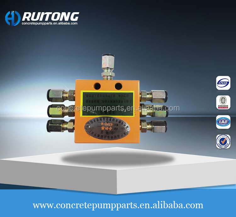 Weidong 10JPQ-M Distribution Valve Lubrication System