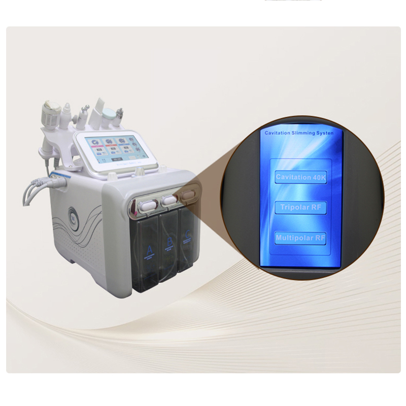 Dropshipping 6 in 1 small bubble beauty machines for salon water jet peel oxygen <strong>facial</strong> equipment <strong>facial</strong> face <strong>care</strong> <strong>tool</strong>