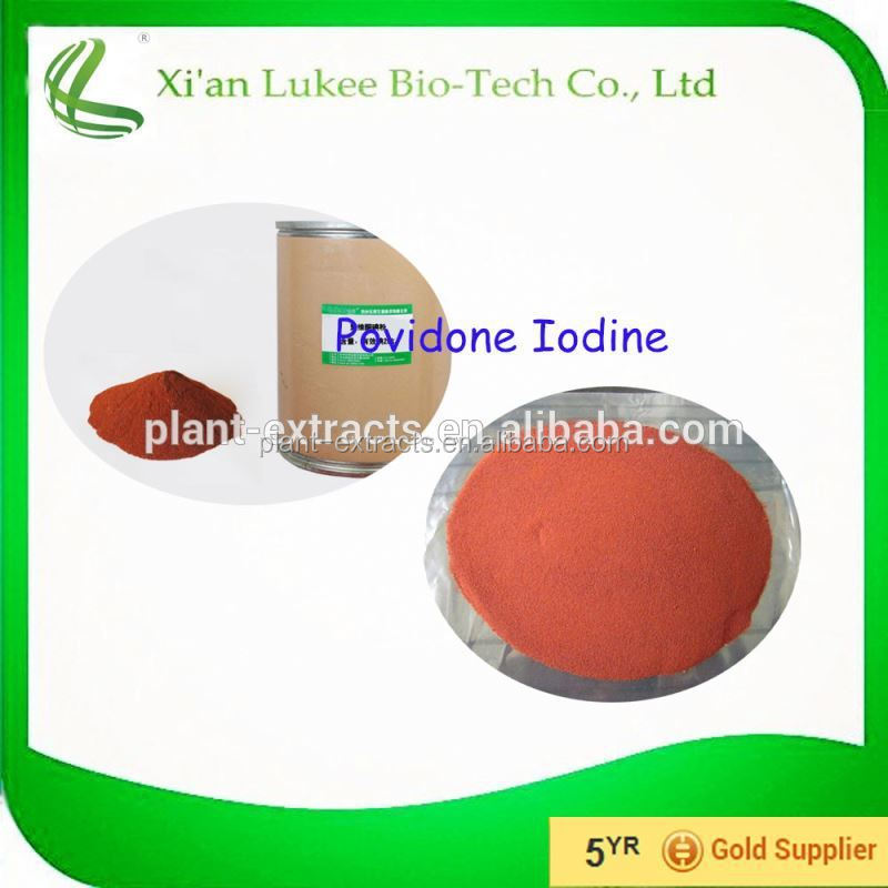 Medical grade povidone Iodine/PVP Iodine raw material disinfectant
