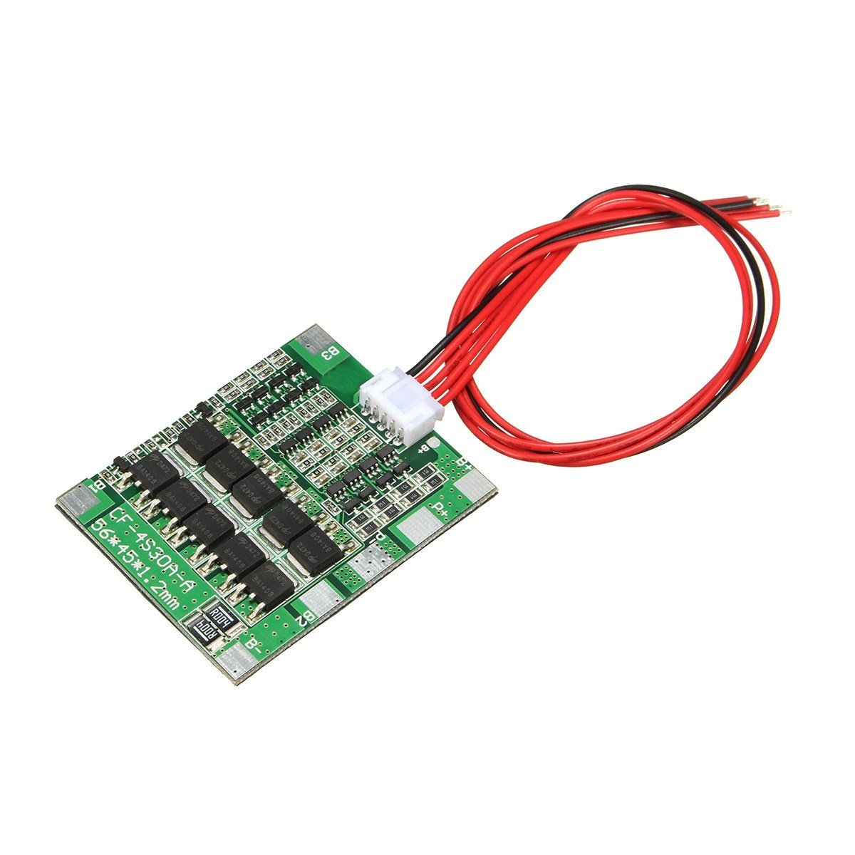 HUIMAI 4S 30A High Current Li-ion Lithium Battery 18650 Charger Protection Board Module 14.4V 14.8V 16.8V Overcharge Over Short Circuit