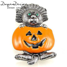 New Design Smile Pumpkin Hallowmeen Gift Brooch
