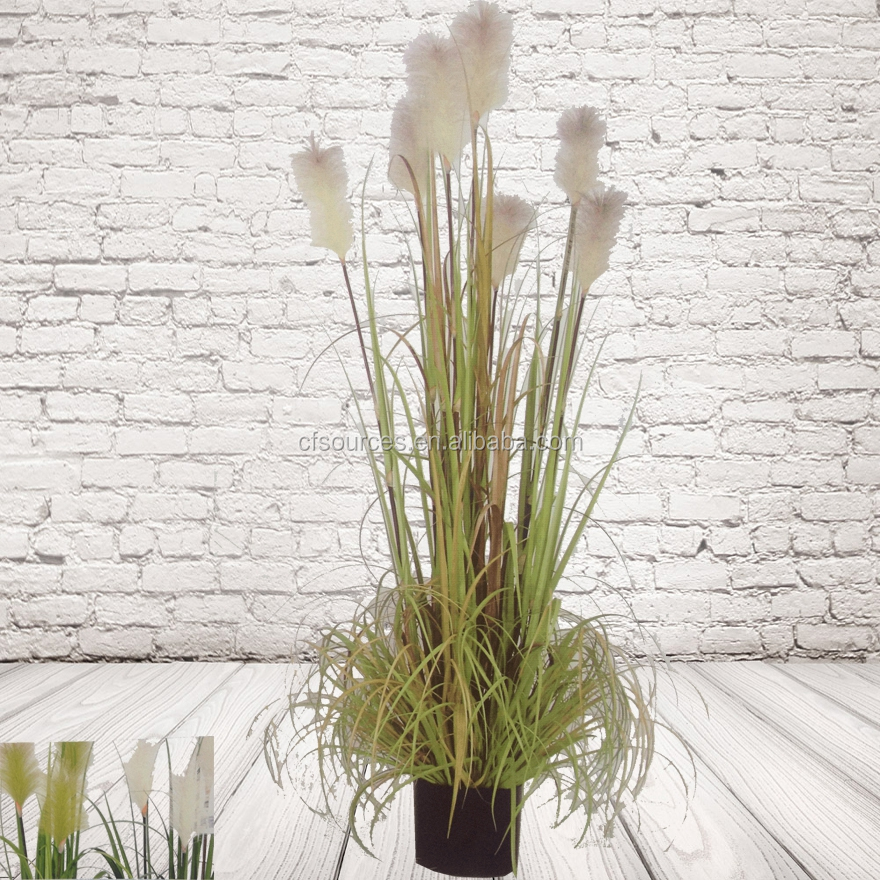 Nep tall gras kunstmatige pot plant kunstgras product id for Tall grasses for pots